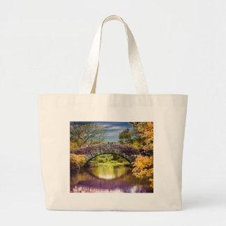 The bridge large tote bag