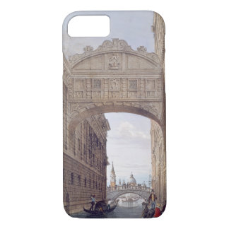 The Bridge of Sighs, Venice, engraved by Lefevre ( iPhone 7 Case