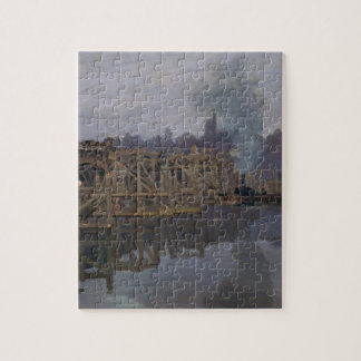 The Bridge under Repair by Claude Monet Jigsaw Puzzle