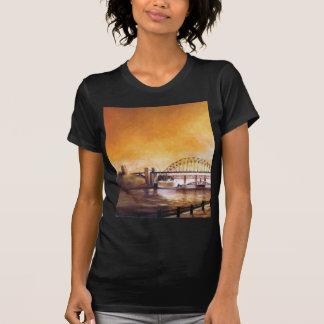 The Bridges, Newcastle upon Tyne Black Tee Shirt