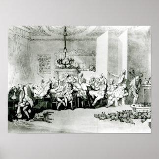 The Brilliants, 1801 Print