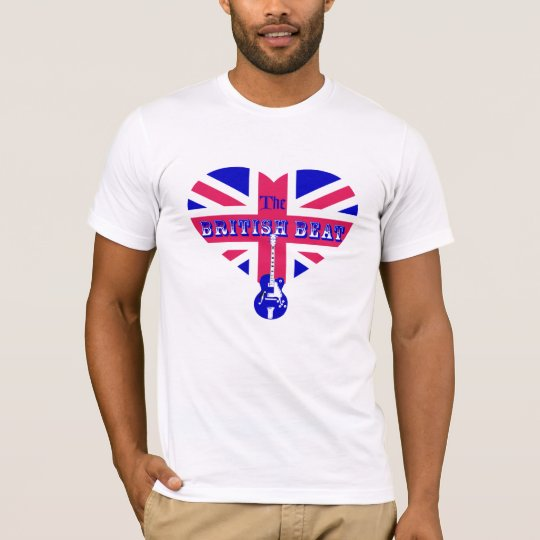 The British Beat Heart & Guitar T-Shirt