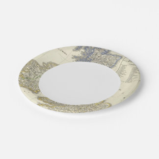 The British Isles from 1066 to 1485 7 Inch Paper Plate