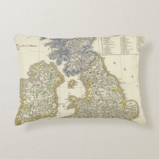 The British Isles from 1066 to 1485 Accent Pillow