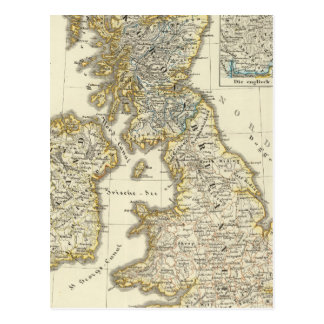 The British Isles since 1485 Postcard