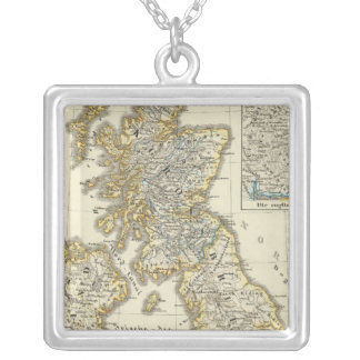 The British Isles since 1485 Square Pendant Necklace