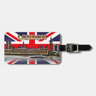 The British Parliament Luggage Tag