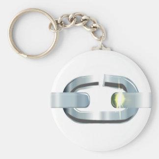 The Broken Link Keychain