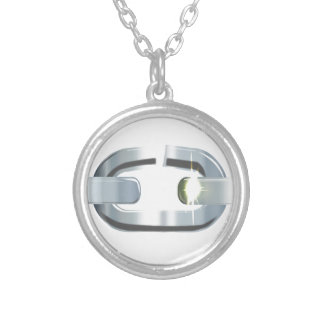 The Broken Link Silver Plated Necklace
