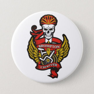 The Brompton Chapter Pin Badge (Folding Bike)