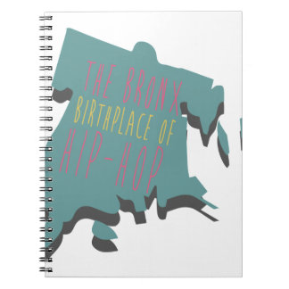 The Bronx Birth Place Spiral Notebook