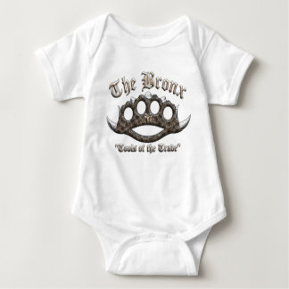 The Bronx - Spiked Brass Knuckles Baby Bodysuit