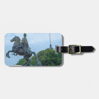 The Bronze Horseman Luggage Tag