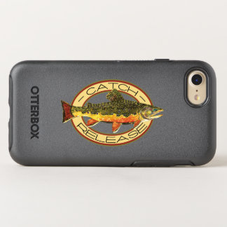 The Brook Trout Fishing OtterBox Symmetry iPhone 8/7 Case