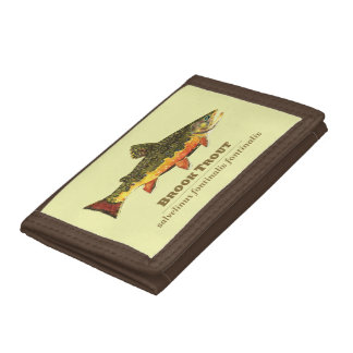 The Brook Trout Tri-fold Wallets