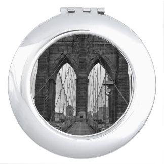 The Brooklyn Bridge in New York City Vanity Mirror