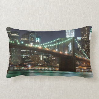 The Brooklyn Bridge - NYC Lumbar Pillow
