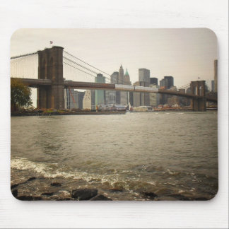 The Brooklyn Bridge, View from Brooklyn Mouse Pad
