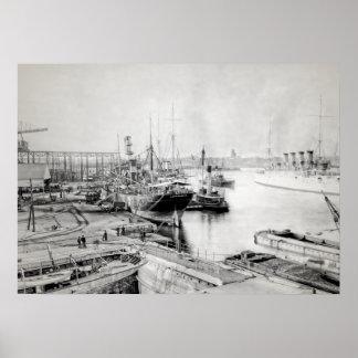 The Brooklyn Navy Yard Poster