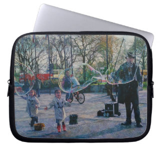 The Bubble Man Laptop Sleeve 10""