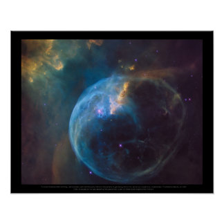 The Bubble Nebula, or NGC 7635 Poster
