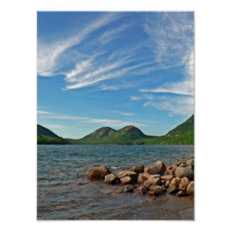 The Bubbles, Acadia National Park, Maine Poster