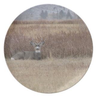 The Buck Deer Dinner Plate