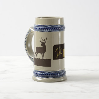 The Buck Stops Here Beer Stein