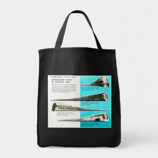 The Budd Company - A Railroad Legend Grocery Tote Bag