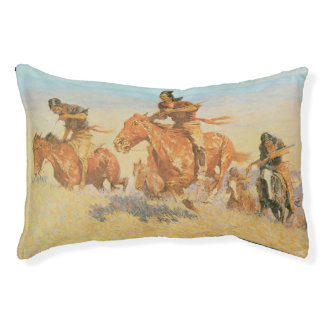 The Buffalo Runners, Big Horn Basin by Remington Small Dog Bed