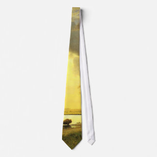 The Buffalo Trail,  Albert Bierstadt Tie