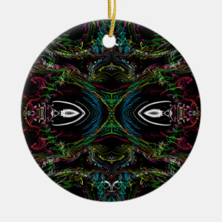 The Bug Round Ceramic Ornament
