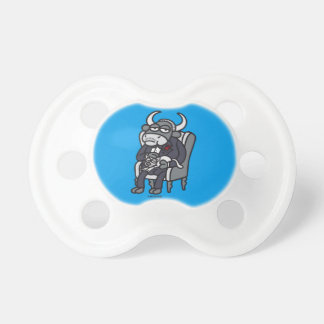 The Bull Father Baby Pacifier