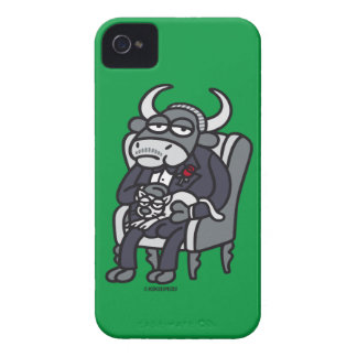 The Bull Father iPhone 4 Cases