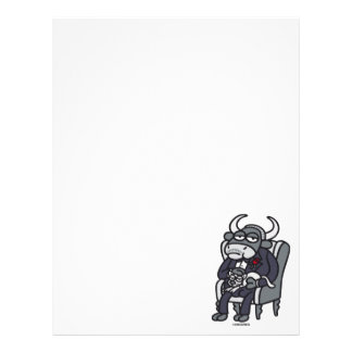 The Bull Father Letterhead Design