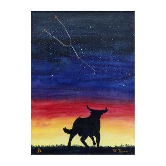 The Bull of Heaven. Acrylic Wall Art