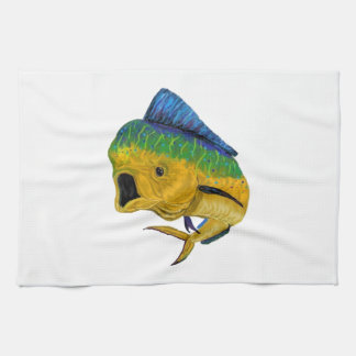 THE BULL PURSUIT KITCHEN TOWEL
