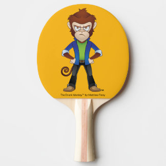 The Bully Drunk Monkey Ping Pong Paddle