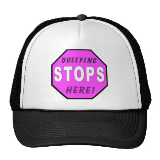 The Bullying Stops Here Trucker Hat