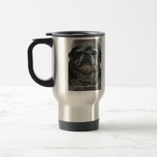 "The Bumblesnot ""Adopt! Don't Shop"" commuter mug"