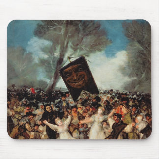 The Burial of the Sardine  c.1812-19 Mouse Pad