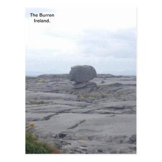 The Burren, Co. Clare, Ireland A Postcard