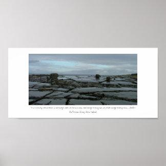 The Burren Poster