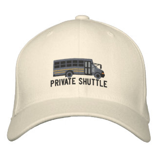 The Bus Driver Custom Mini Bus Shuttle Embroidery Embroidered Hat