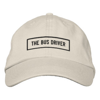 The Bus Driver Headline Embroidery Embroidered Hat