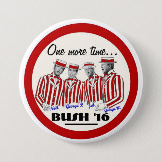 The Bush Brothers 3 Inch Round Button