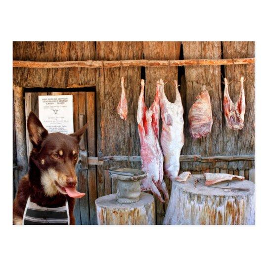 The Butcher Postcard
