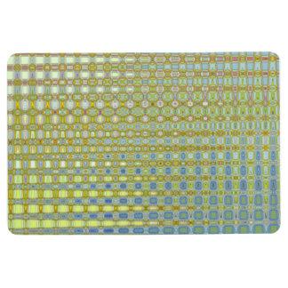 The Buttercup & Bleu Floor Mat by Artist CL Brown