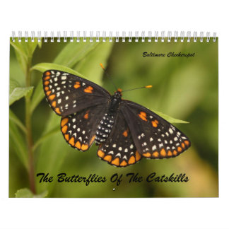 The Butterflies of the Catskills Calendar