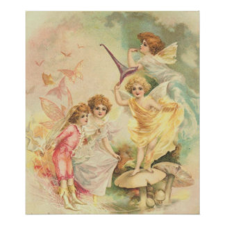 The Butterfly Fairies Poster